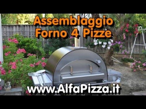 Video thumbnail for youtube video Il Montaggio del Forno a Legan 4 Pizze della alfaforni.com