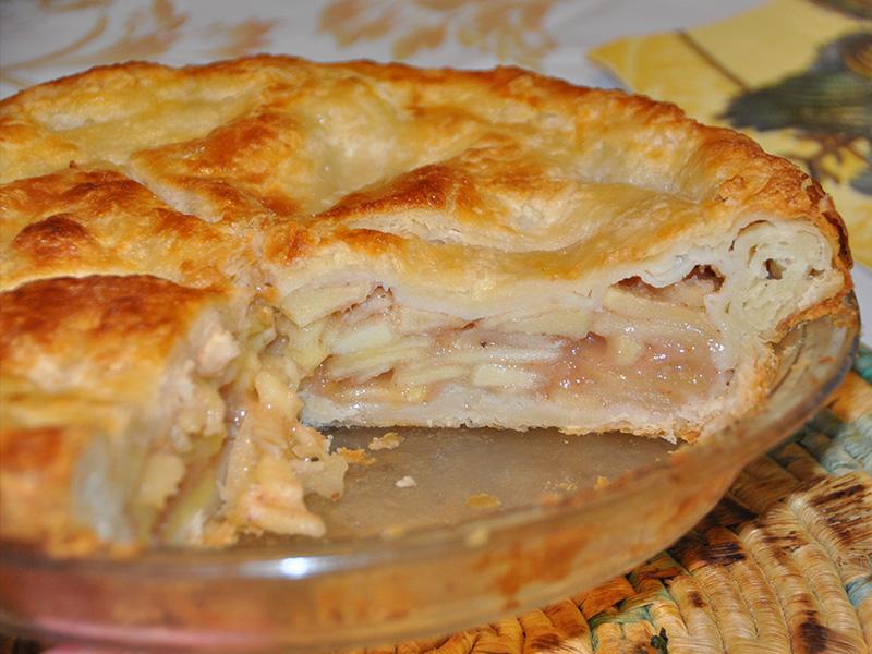 Ricetta Apple Pie Americana