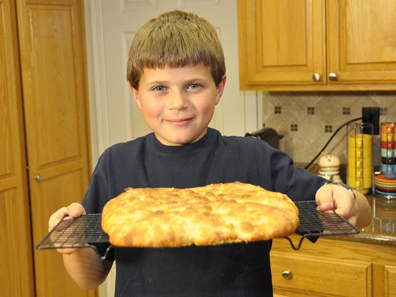 Ricetta Pizza Bianca (Focaccia) Semplice