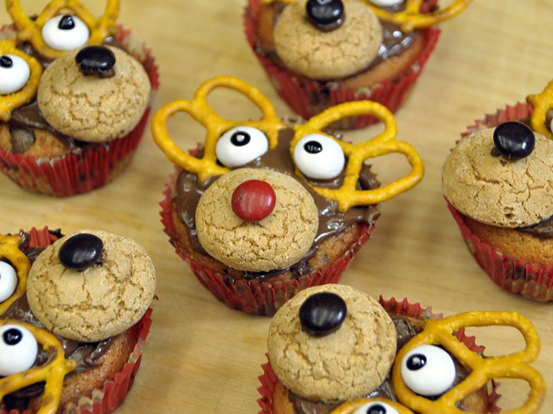 Video per fare Renne di Natale con i Muffins