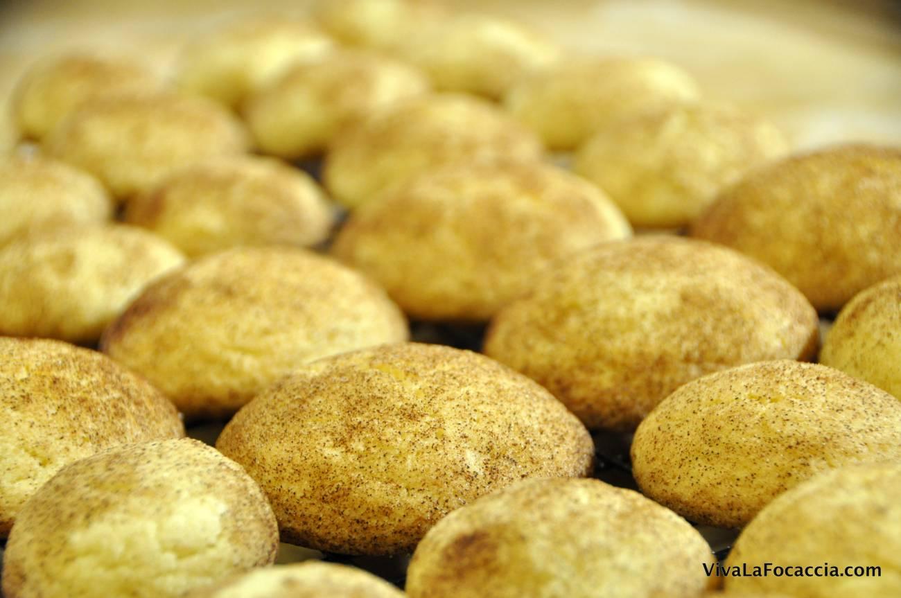 Ricetta Biscotti alla Cannella Americani Snickerdoodles