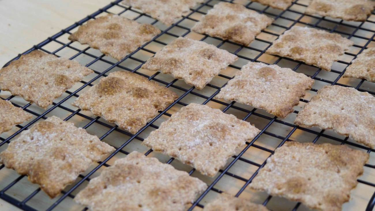 Ricetta Crackers Integrali Senza Lievito
