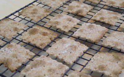 Ricetta Crackers Integrali